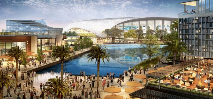 The $3 Billion Stadium, Mall and Tourist Destination Set To Change Inglewood
